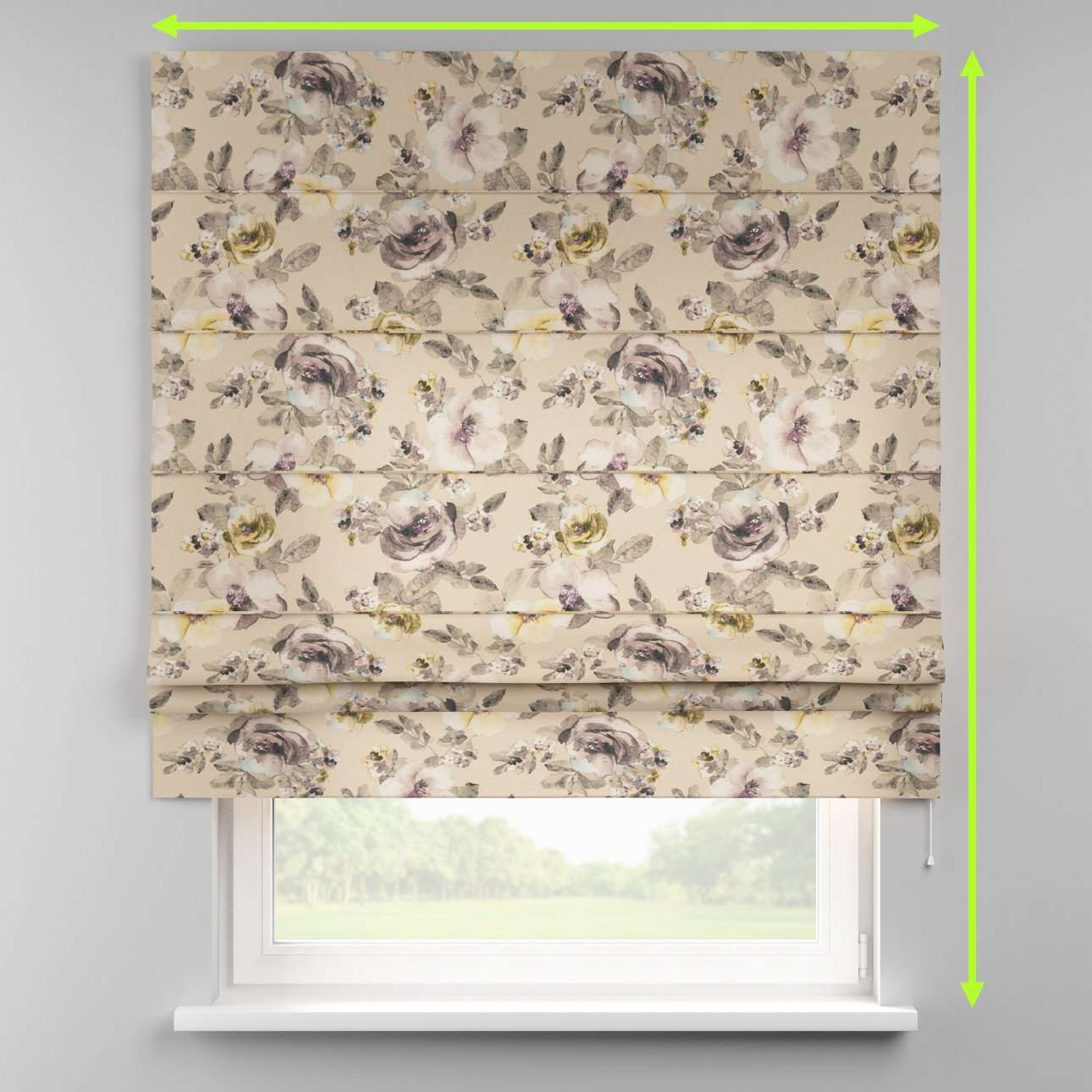 Padva roman blind  in collection Londres, fabric: 140-44