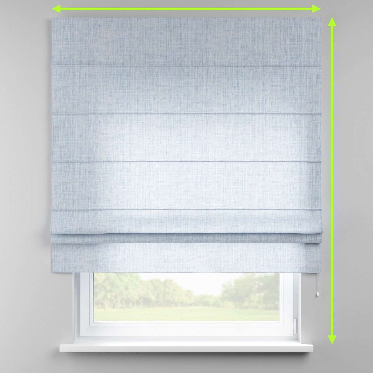 Padva roman blind  in collection Aquarelle, fabric: 140-74