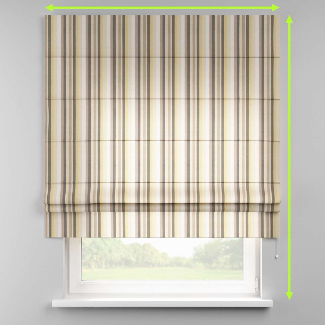 Padva roman blind  in collection Norge, fabric: 140-80