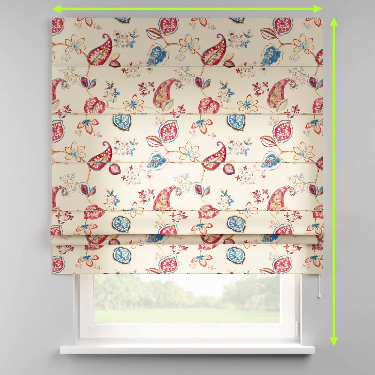 Padva roman blind  in collection Norge, fabric: 140-96