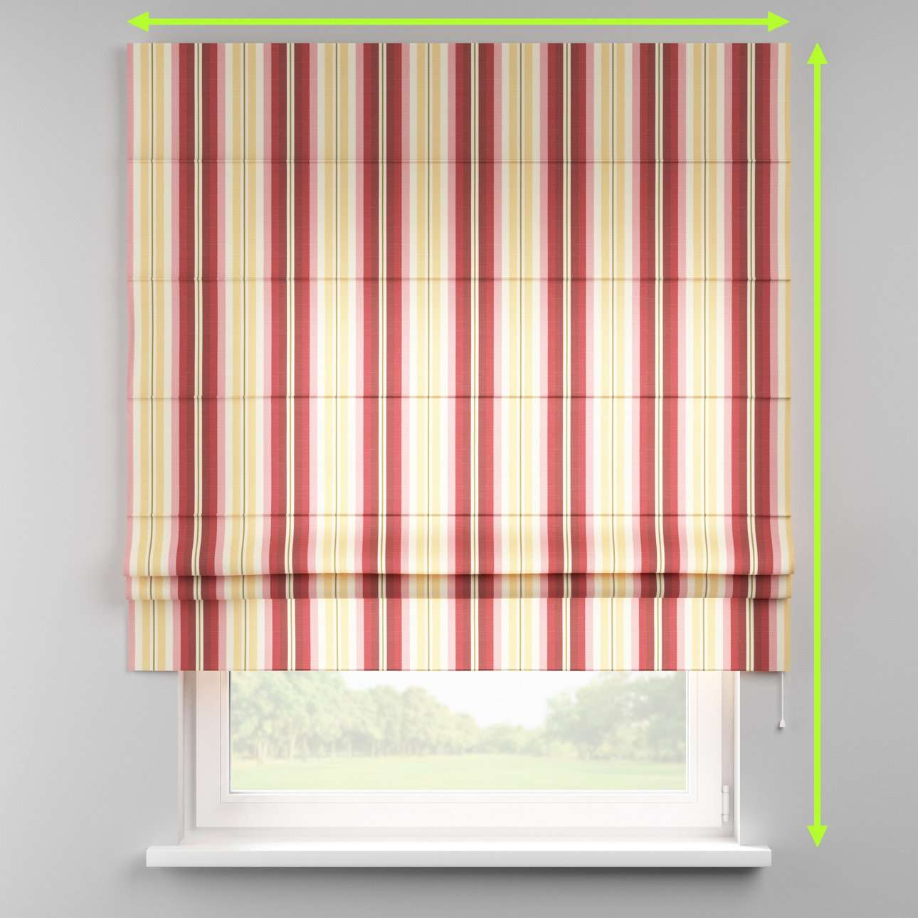 Padva roman blind  in collection Mirella, fabric: 141-12