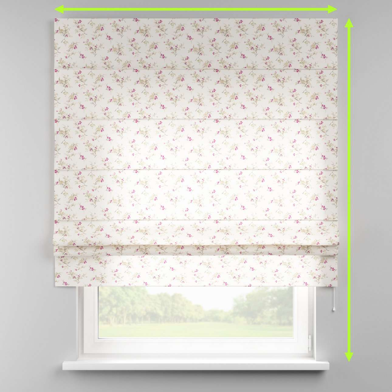 Padva roman blind  in collection Mirella, fabric: 141-13