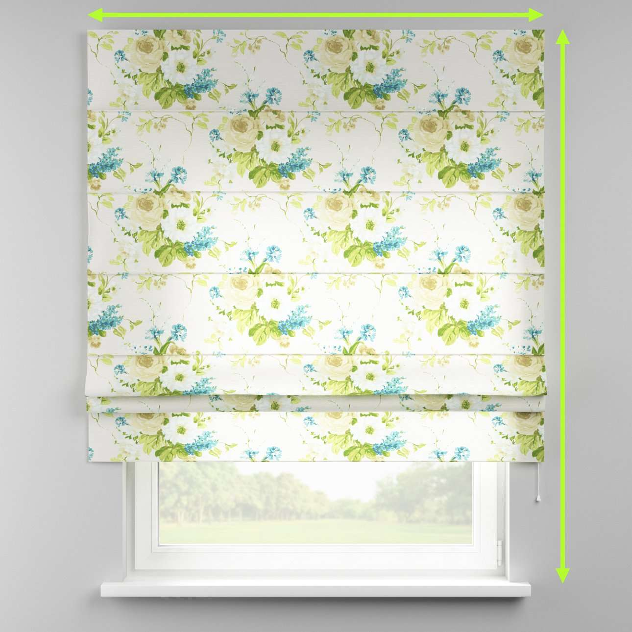 Padva roman blind  in collection Mirella, fabric: 141-15