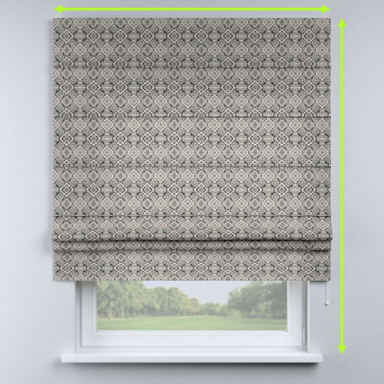 Padva roman blind  in collection Comic Book & Geo Prints, fabric: 141-18