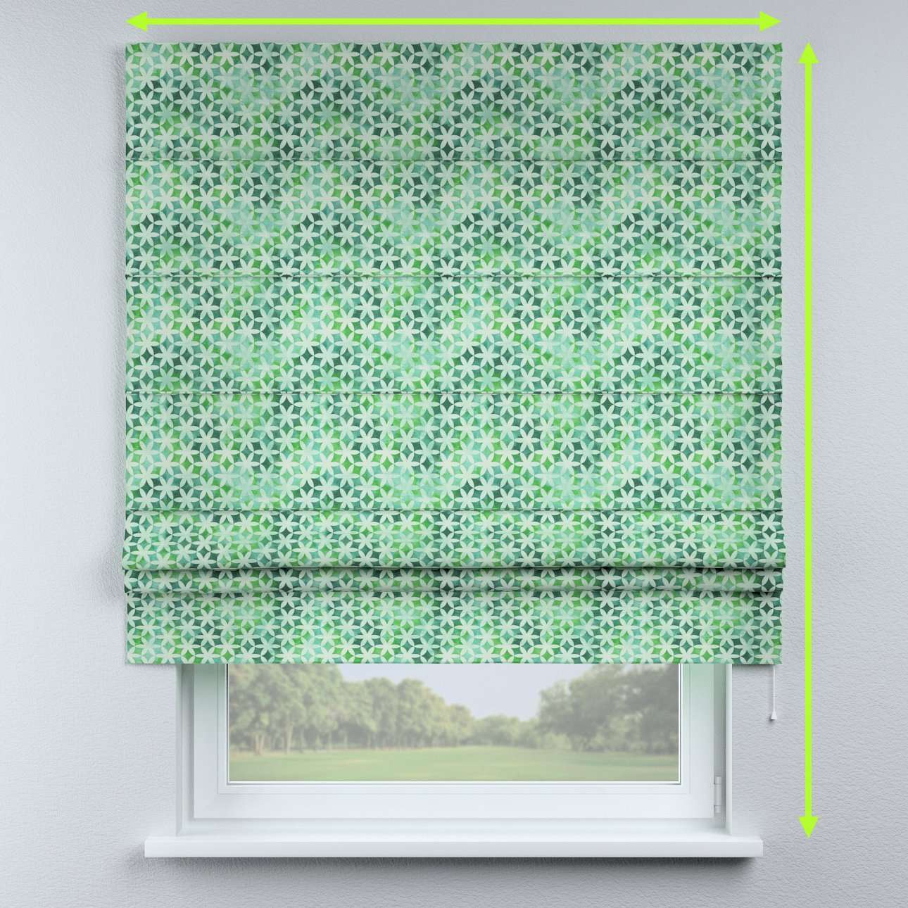 Padva roman blind  in collection Urban Jungle, fabric: 141-65