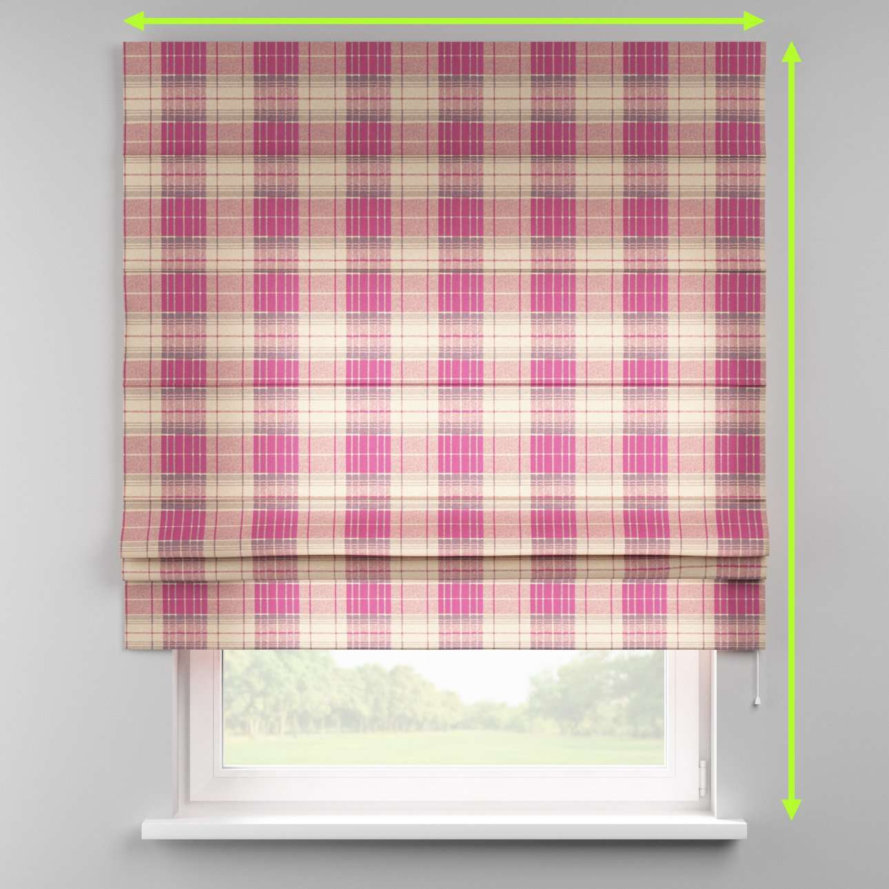 Padva roman blind  in collection Mirella, fabric: 142-07