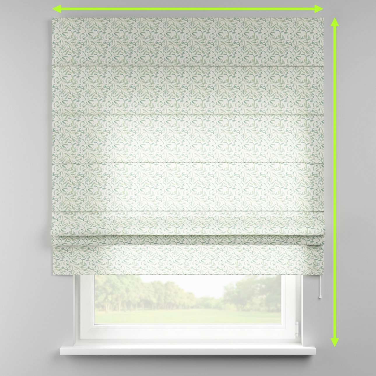Padva roman blind  in collection Norge, fabric: 150-19