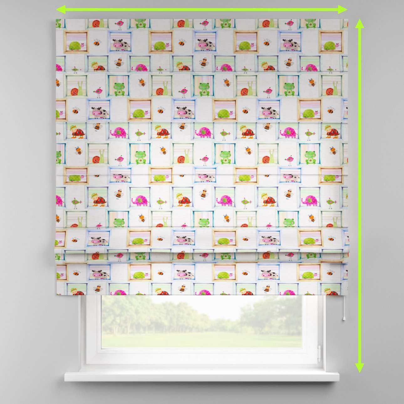 Padva roman blind  in collection Apanona, fabric: 151-04