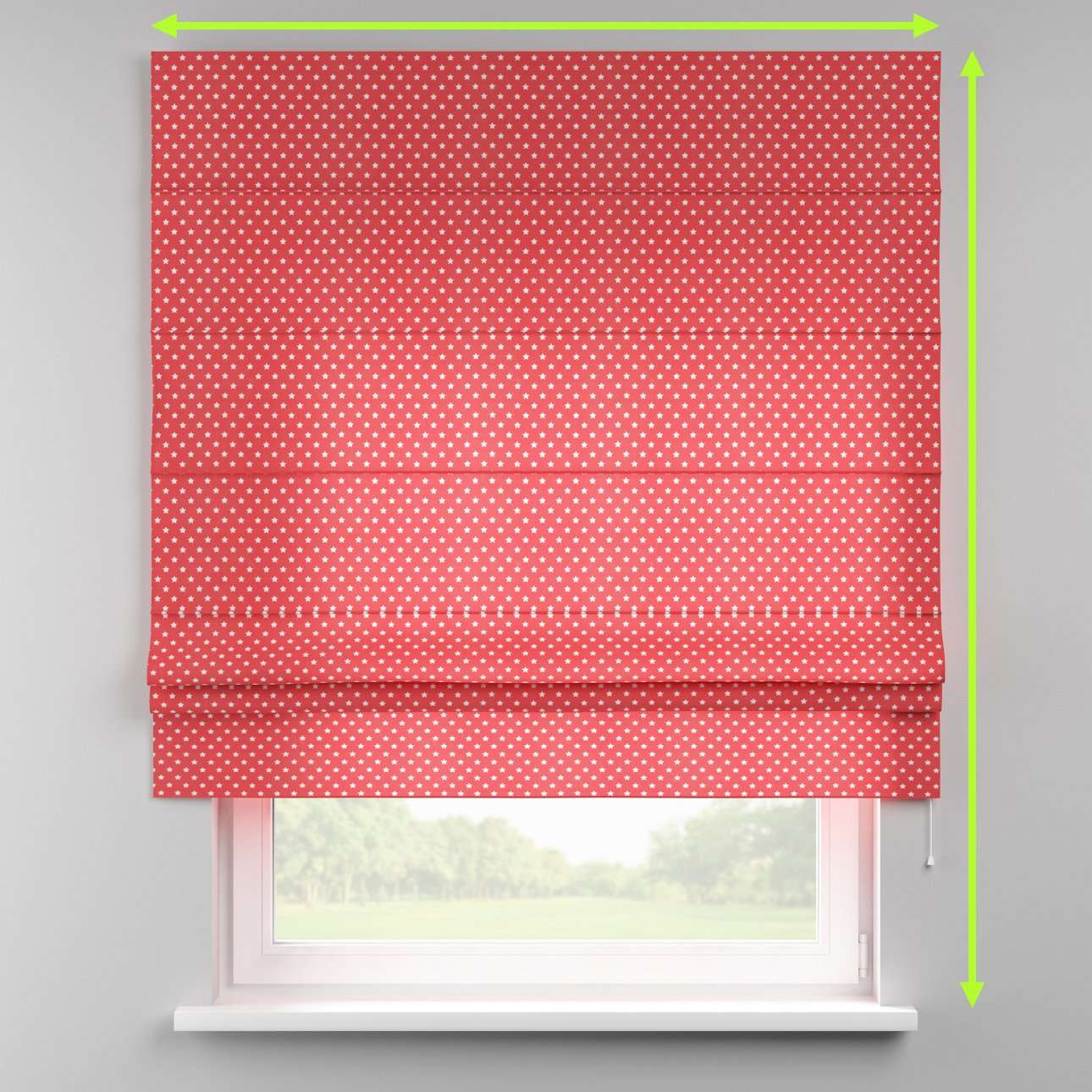 Padva roman blind in collection Little World, fabric: 137-69