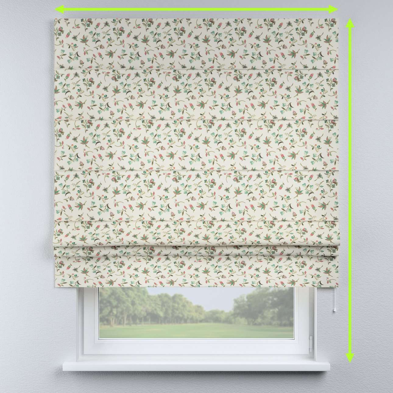 Padva roman blind in collection Londres, fabric: 122-02