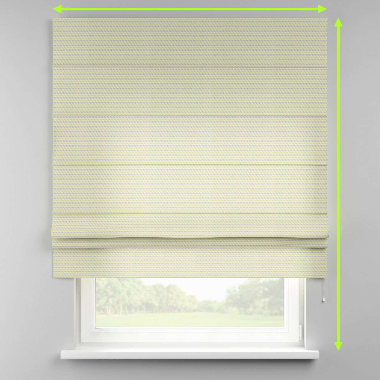 Padva roman blind in collection SALE, fabric: 140-36