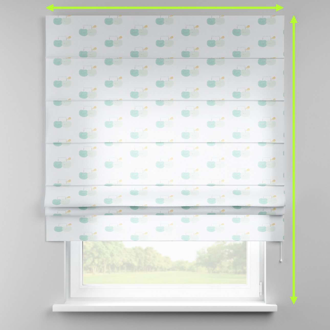 Padva roman blind in collection Little World, fabric: 151-02
