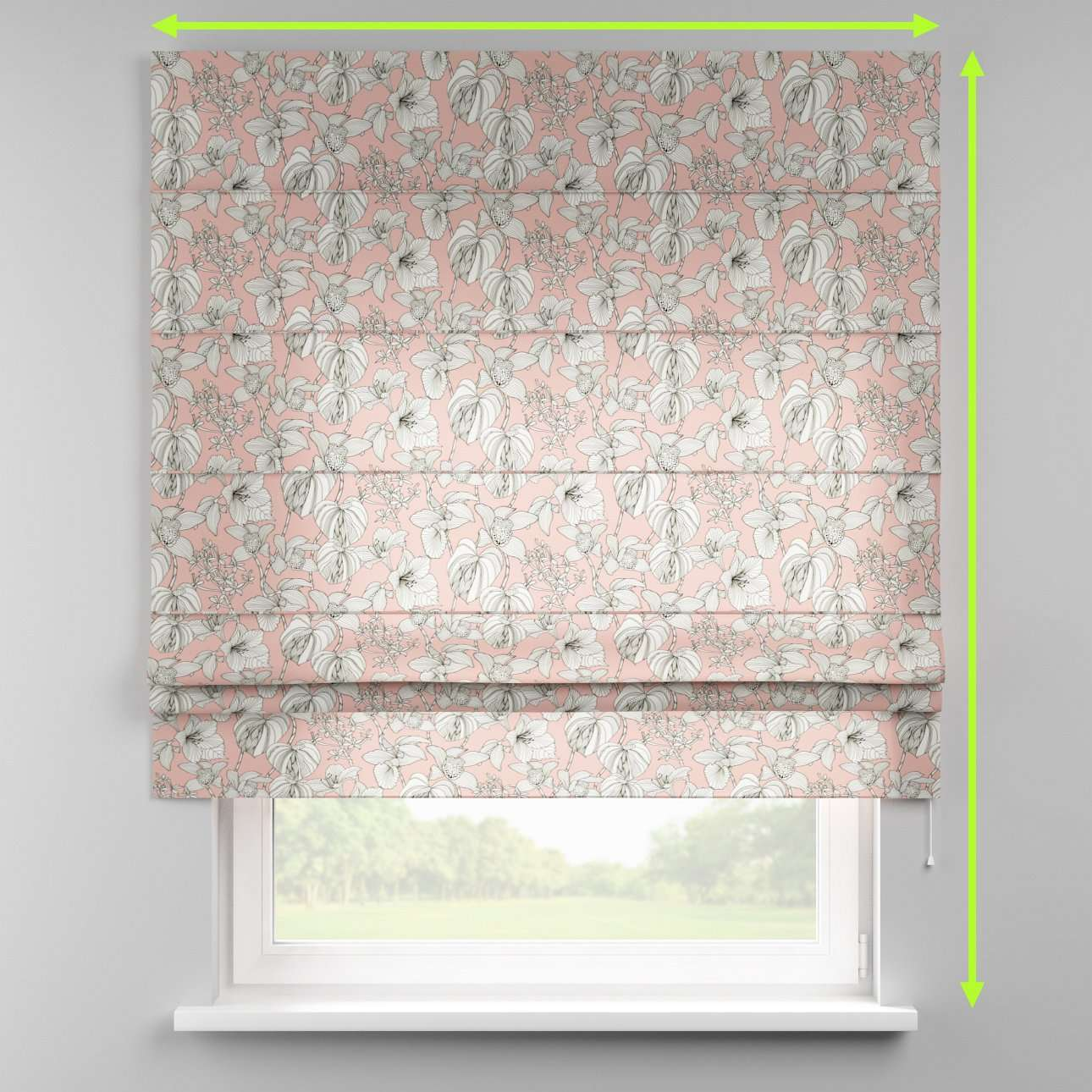 Padva roman blind in collection SALE, fabric: 137-74