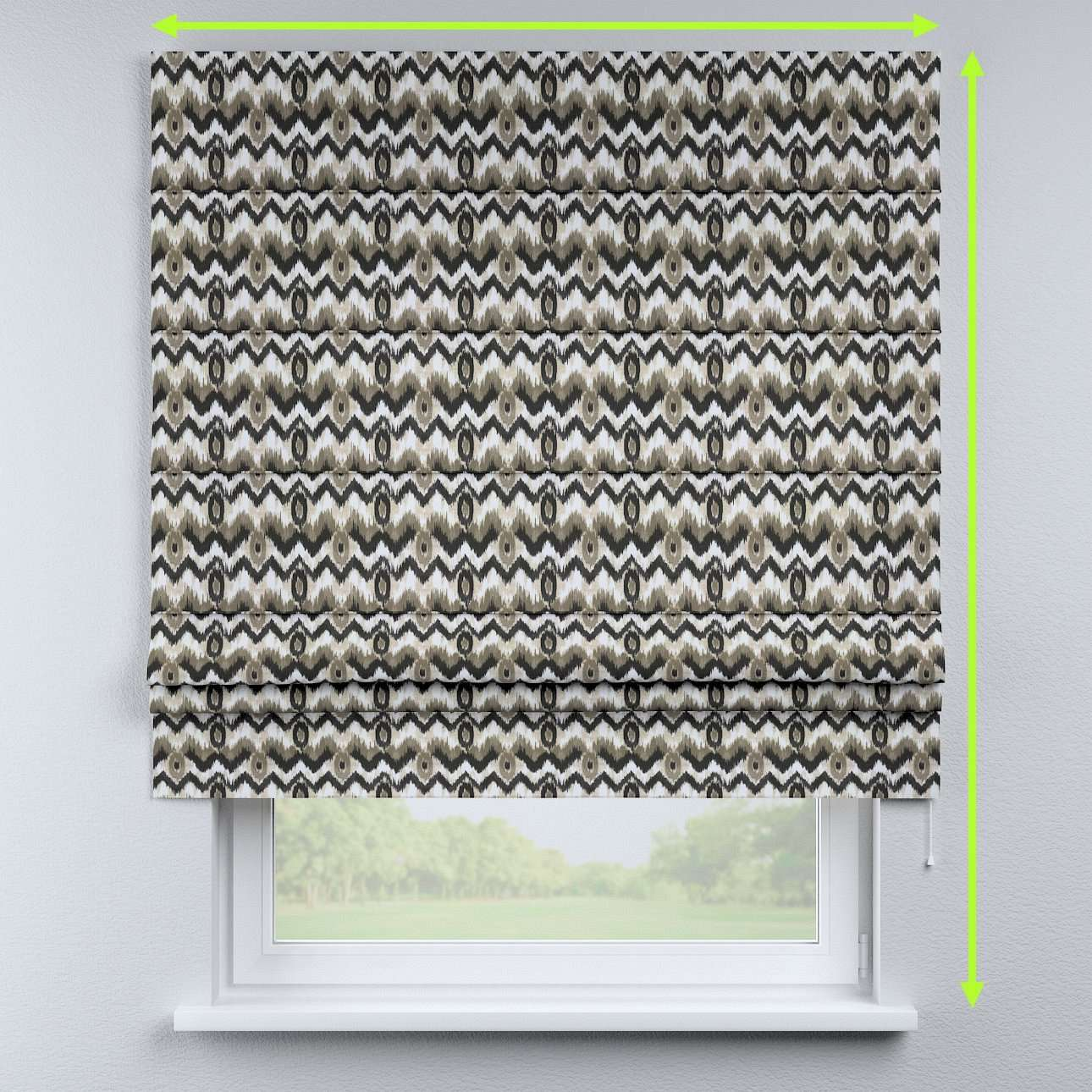 Padva roman blind in collection Modern, fabric: 141-88
