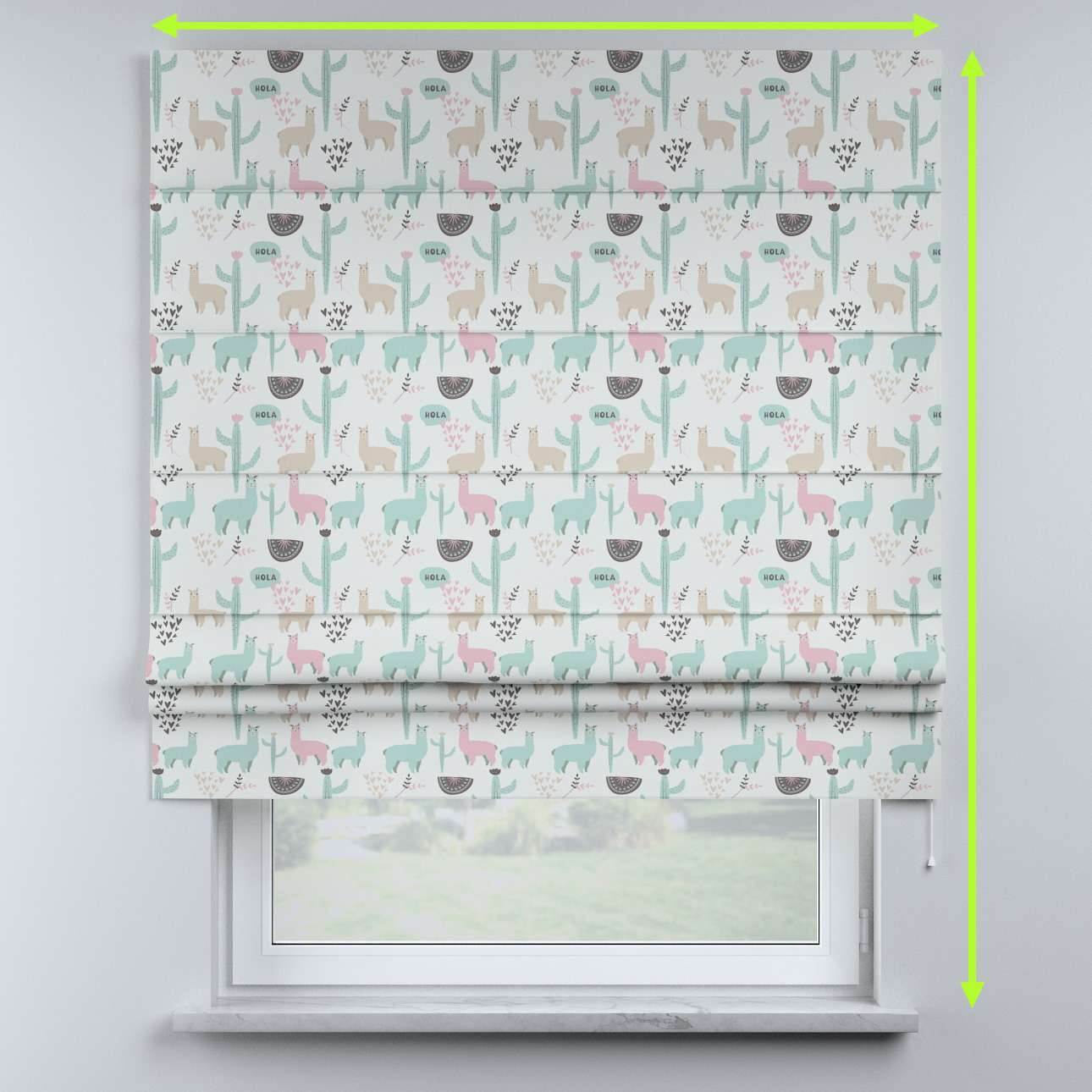 Sammy roman blind in collection Magic Collection, fabric: 500-01