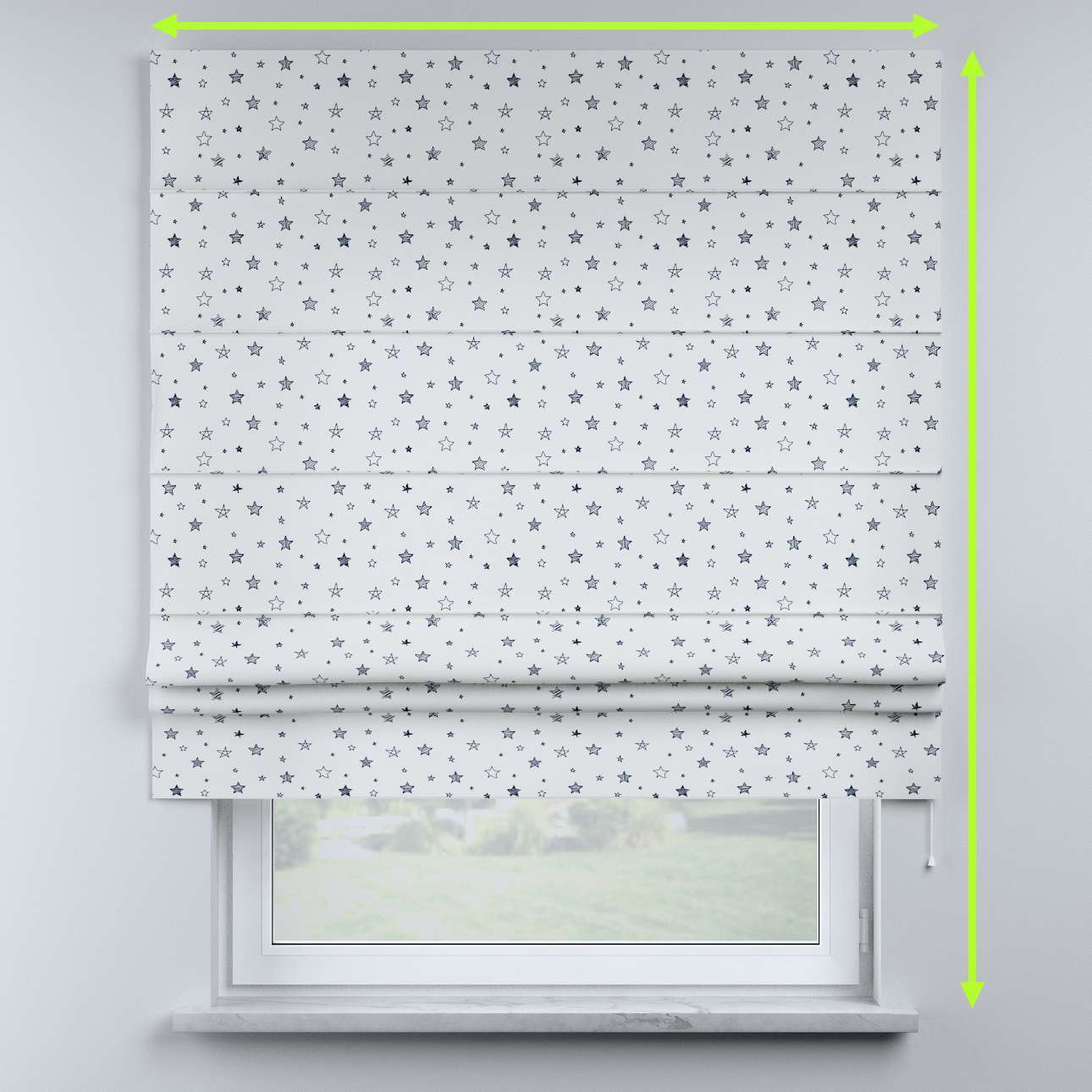 Sammy roman blind in collection Magic Collection, fabric: 500-08