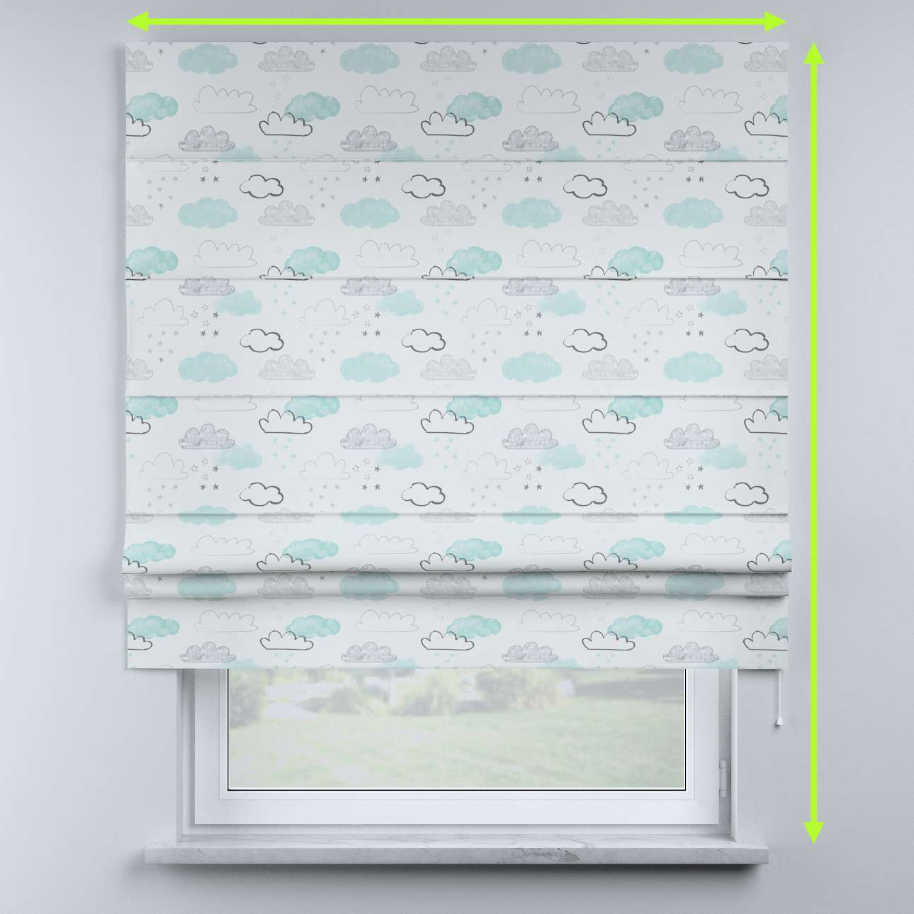 Sammy roman blind in collection Magic Collection, fabric: 500-14