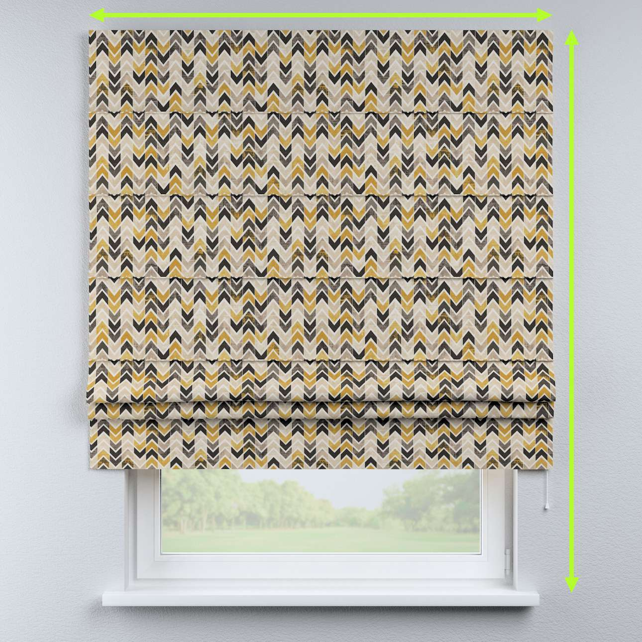 Padva roman blind in collection Modern, fabric: 142-79