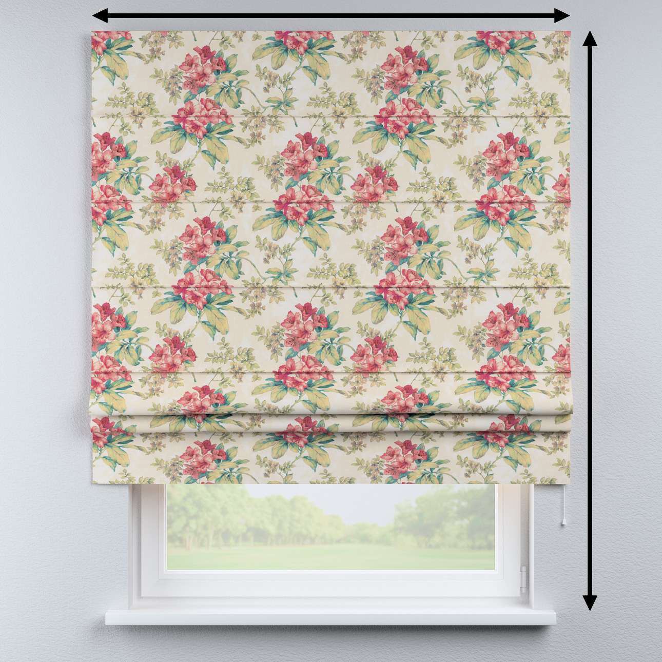 Padva roman blind in collection Londres, fabric: 143-40