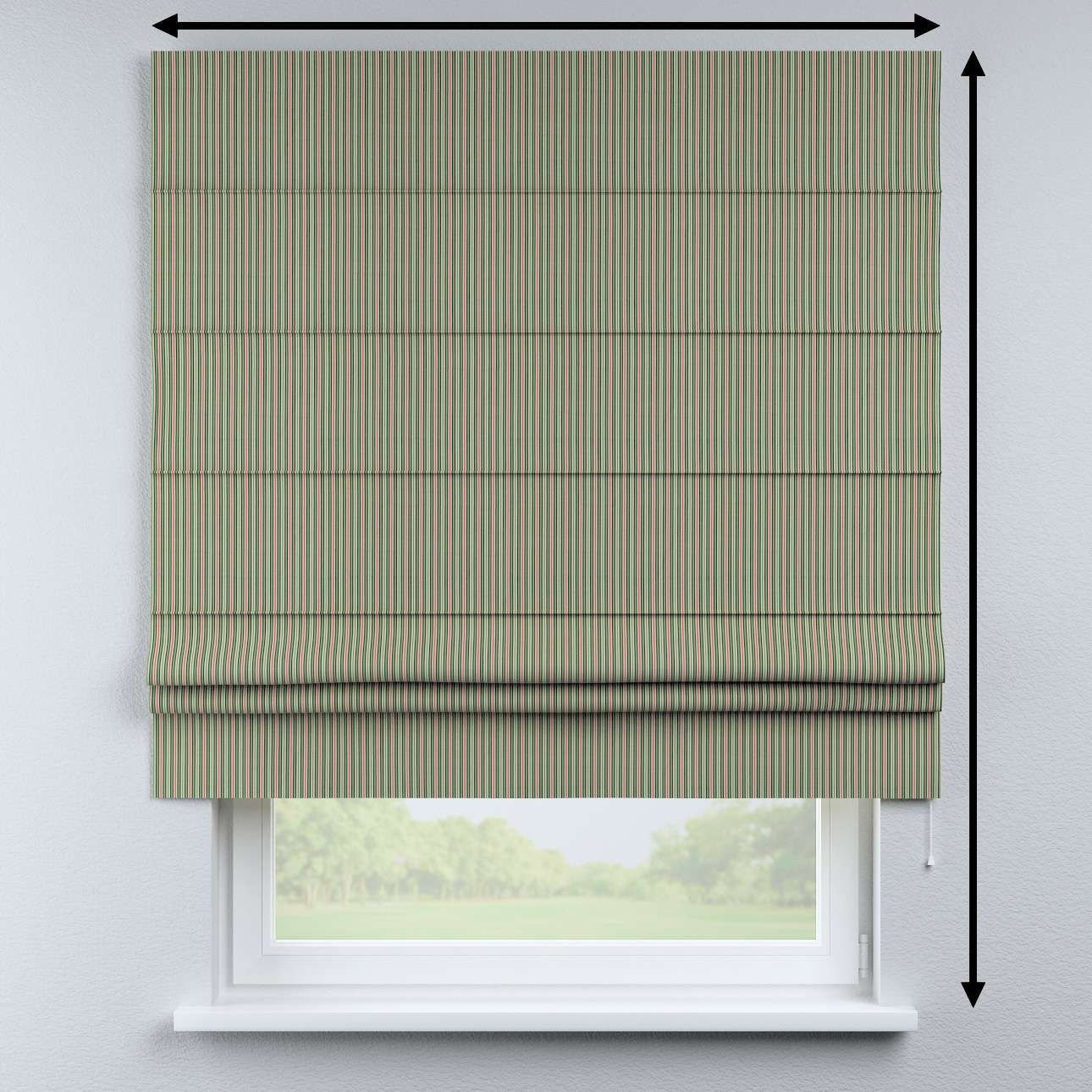 Padva roman blind in collection Londres, fabric: 143-42
