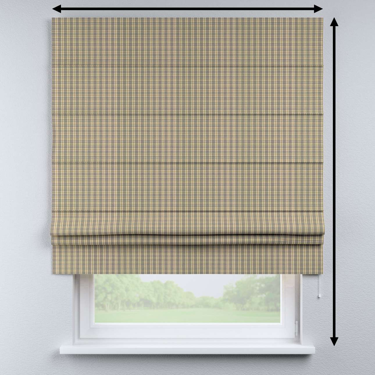Padva roman blind in collection Londres, fabric: 143-39