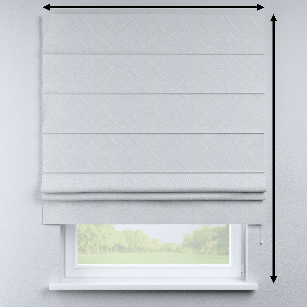 Padva roman blind in collection Sunny, fabric: 143-43