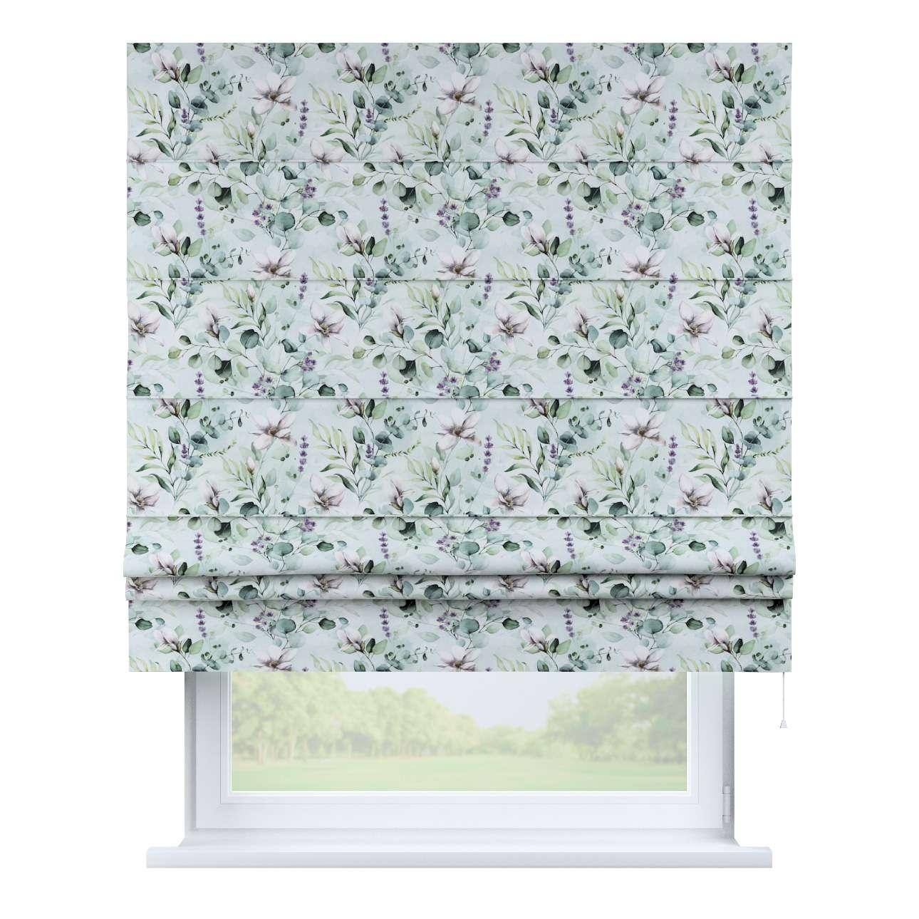 Vouwgordijn Padva van de collectie Flowers, Stof: 143-66