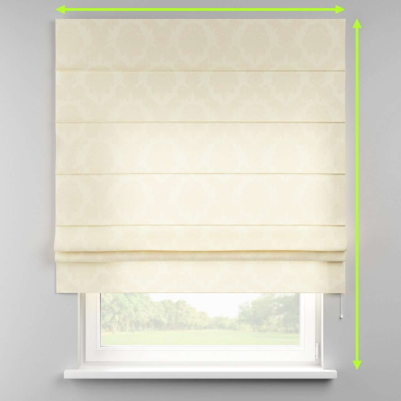 Padva roman blind  in collection Damasco, fabric: 613-01