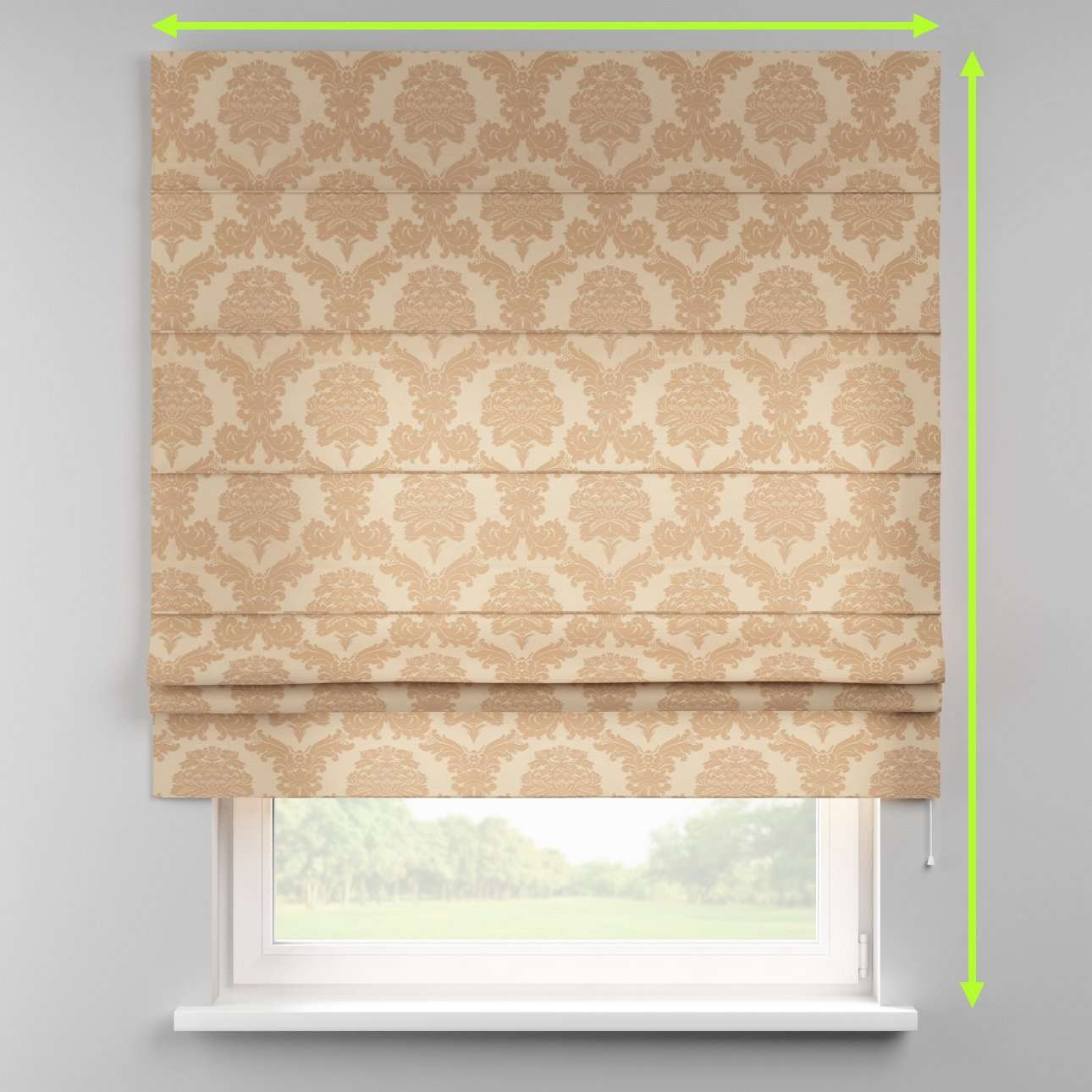 Padva roman blind  in collection Damasco, fabric: 613-04