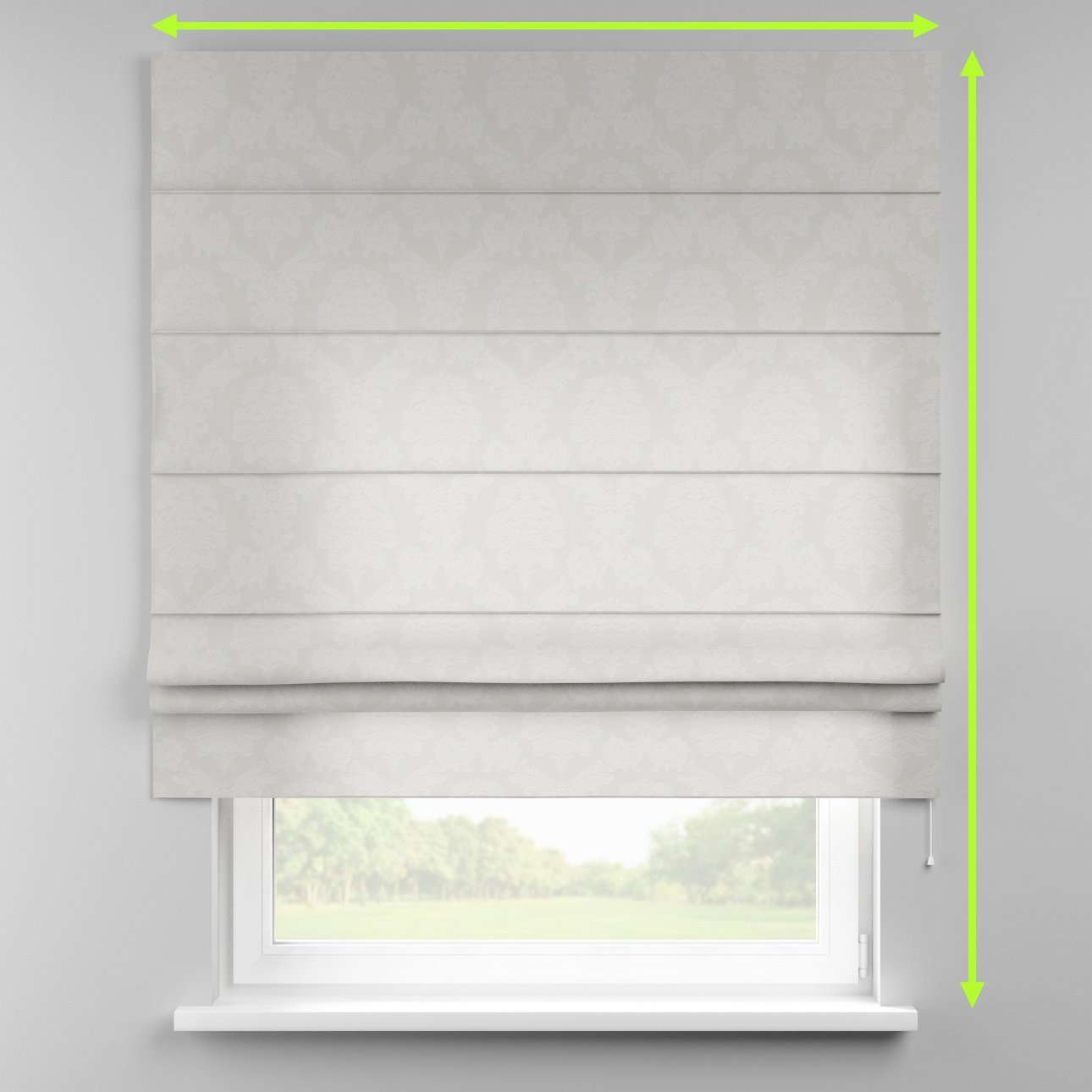 Padva roman blind  in collection Damasco, fabric: 613-81