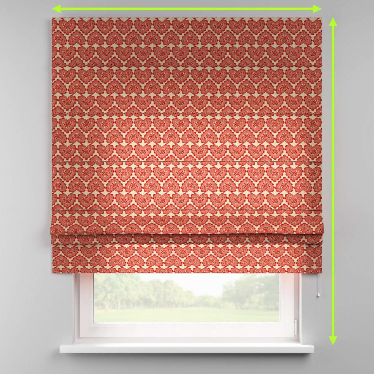 Padva roman blind  in collection Freestyle, fabric: 629-17