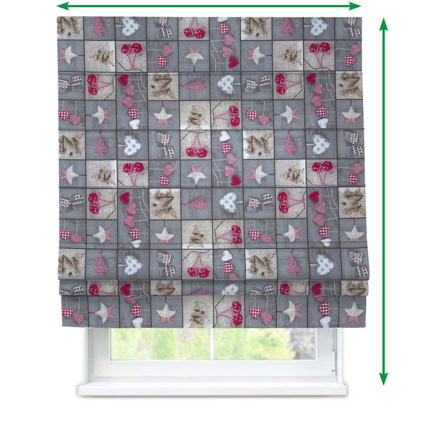Padva roman blind  in collection Christmas , fabric: 629-20