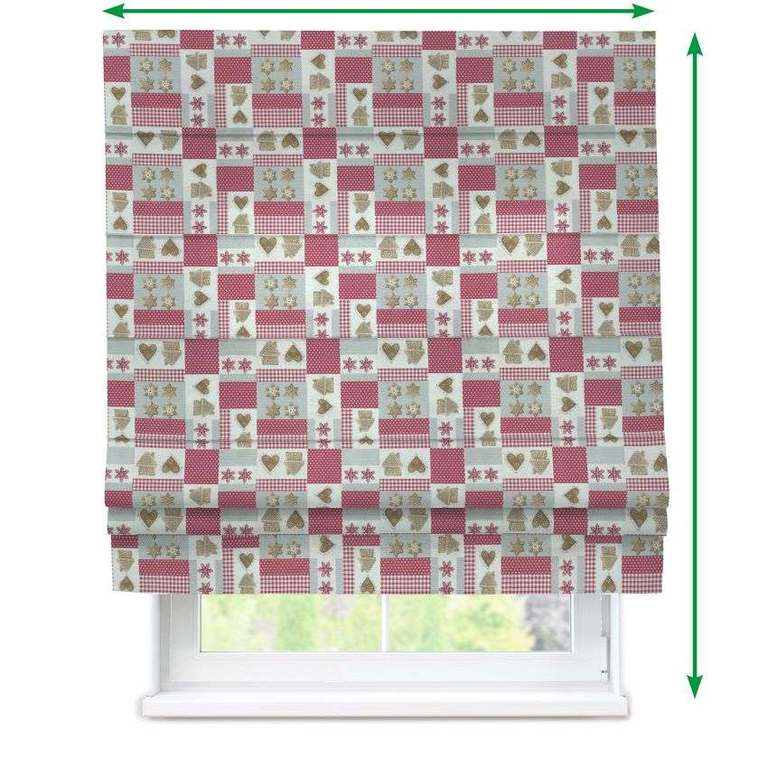 Padva roman blind  in collection Christmas , fabric: 629-22