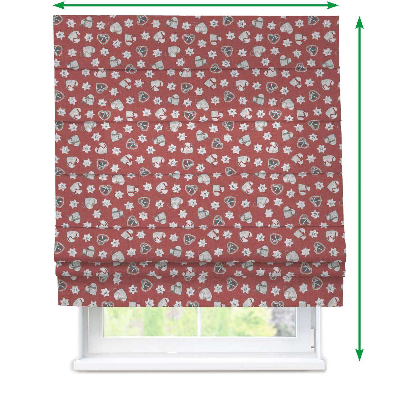 Padva roman blind  in collection Christmas , fabric: 629-29