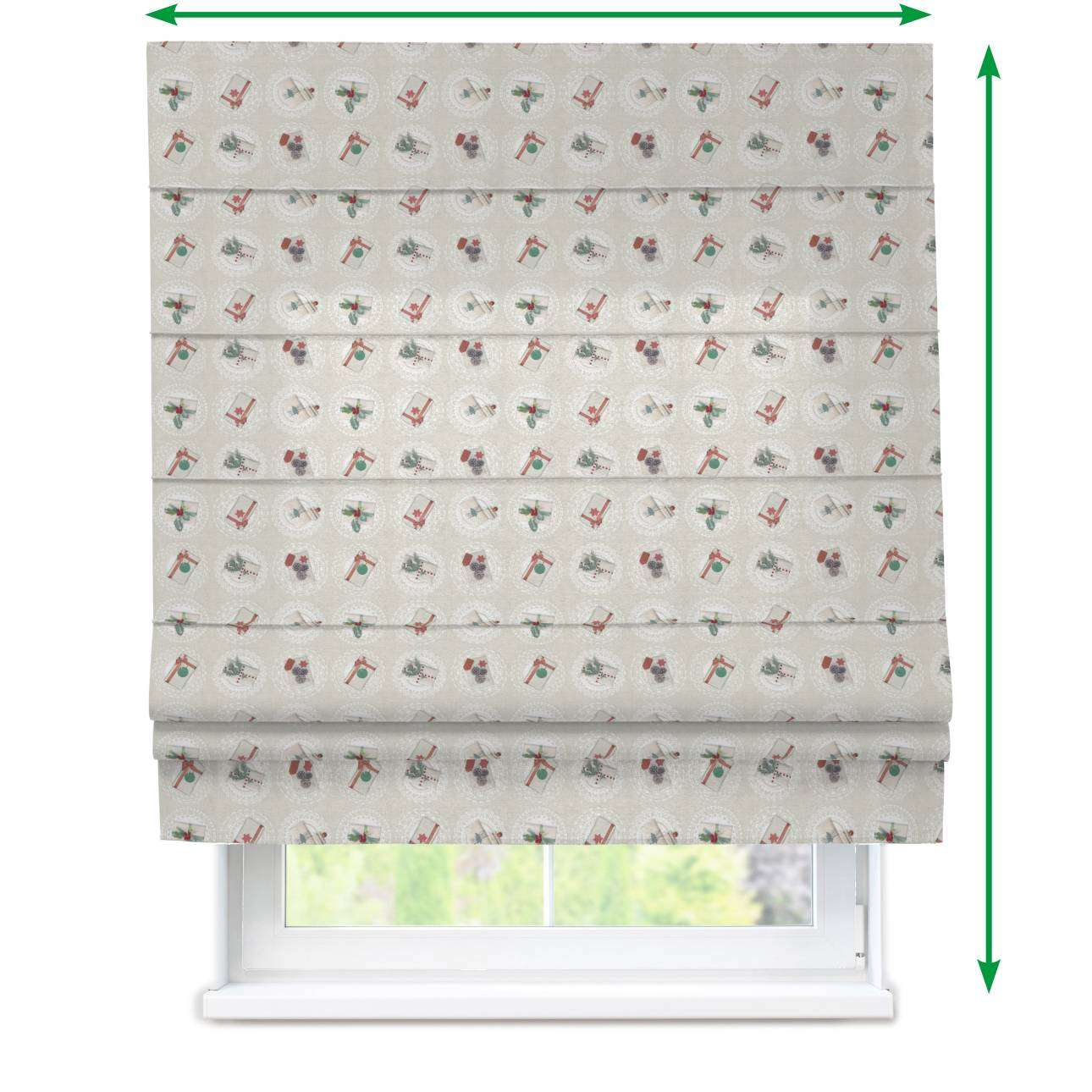 Padva roman blind  in collection Christmas , fabric: 629-30