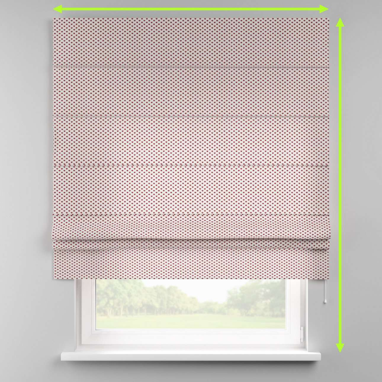 Padva roman blind  in collection Nordic, fabric: 630-04