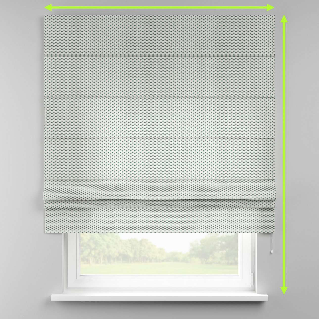 Padva roman blind  in collection Nordic, fabric: 630-12
