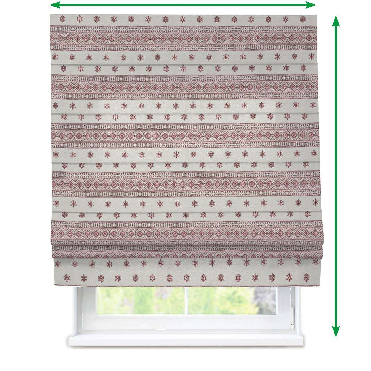Padva roman blind  in collection Christmas , fabric: 630-23