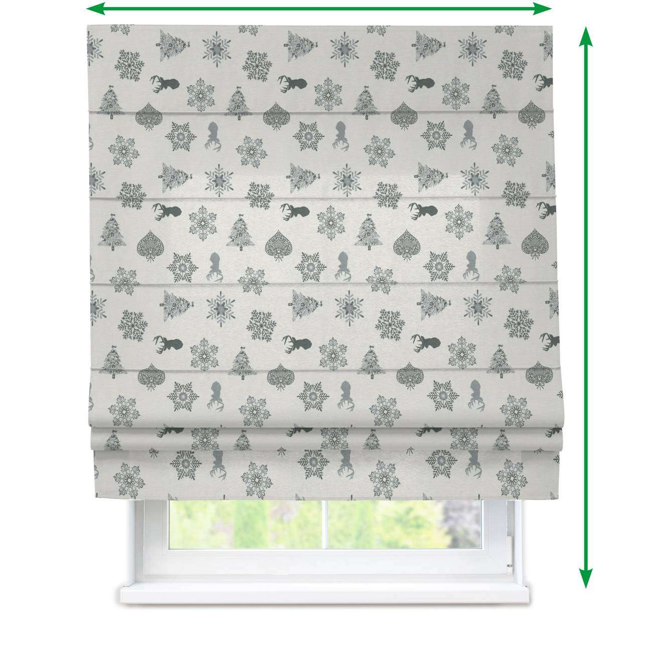 Padva roman blind  in collection Christmas , fabric: 630-24