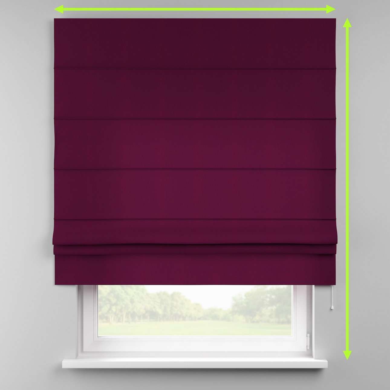 Padva roman blind  in collection Chenille, fabric: 702-12