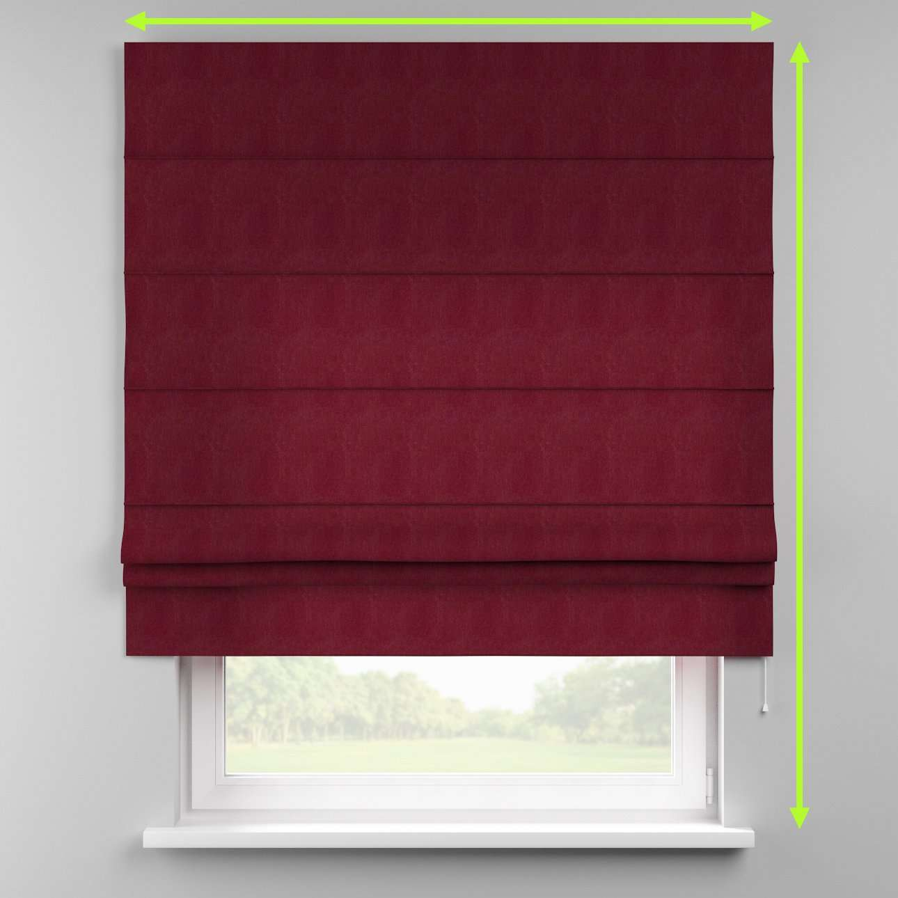 Padva roman blind  in collection Chenille, fabric: 702-19