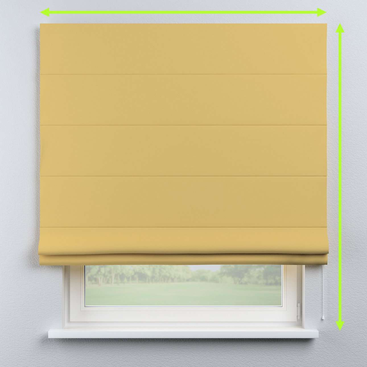 Blackout roman blind in collection Blackout, fabric: 269-12