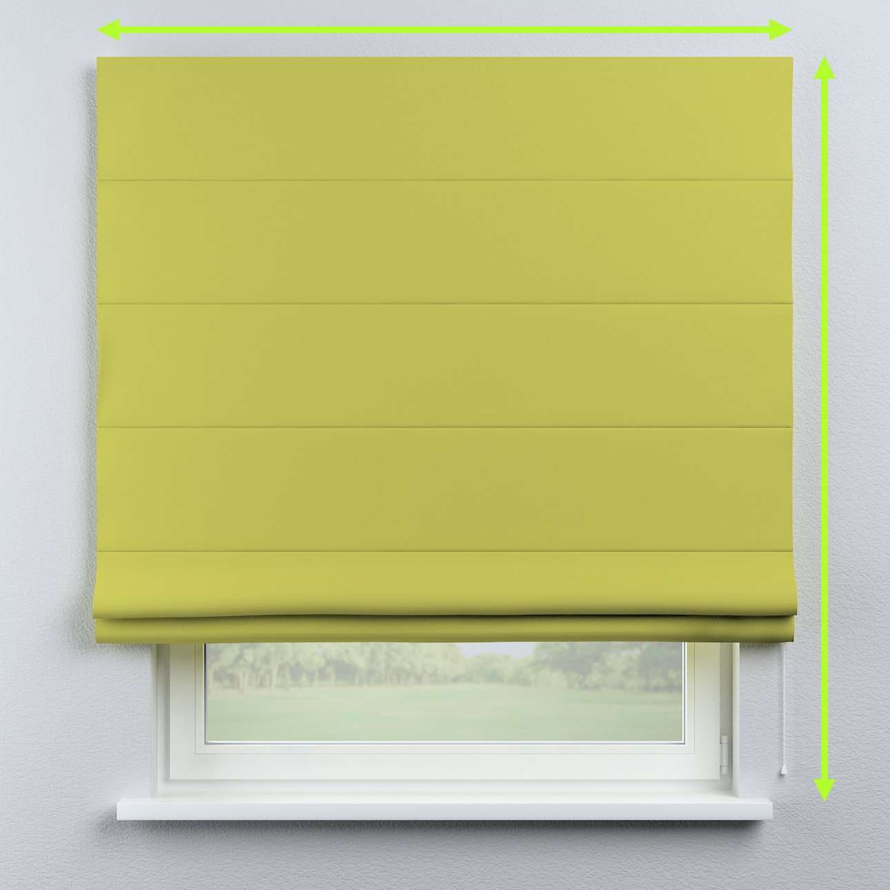 Blackout roman blind in collection Blackout, fabric: 269-17