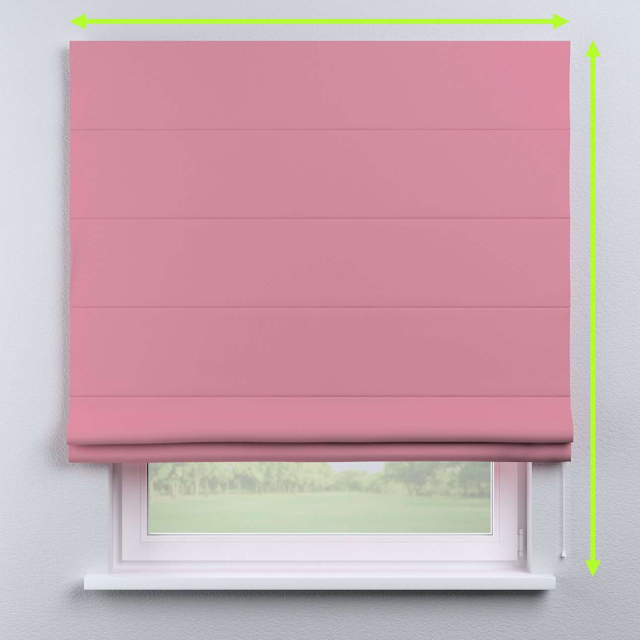 Blackout roman blind in collection Blackout, fabric: 269-92