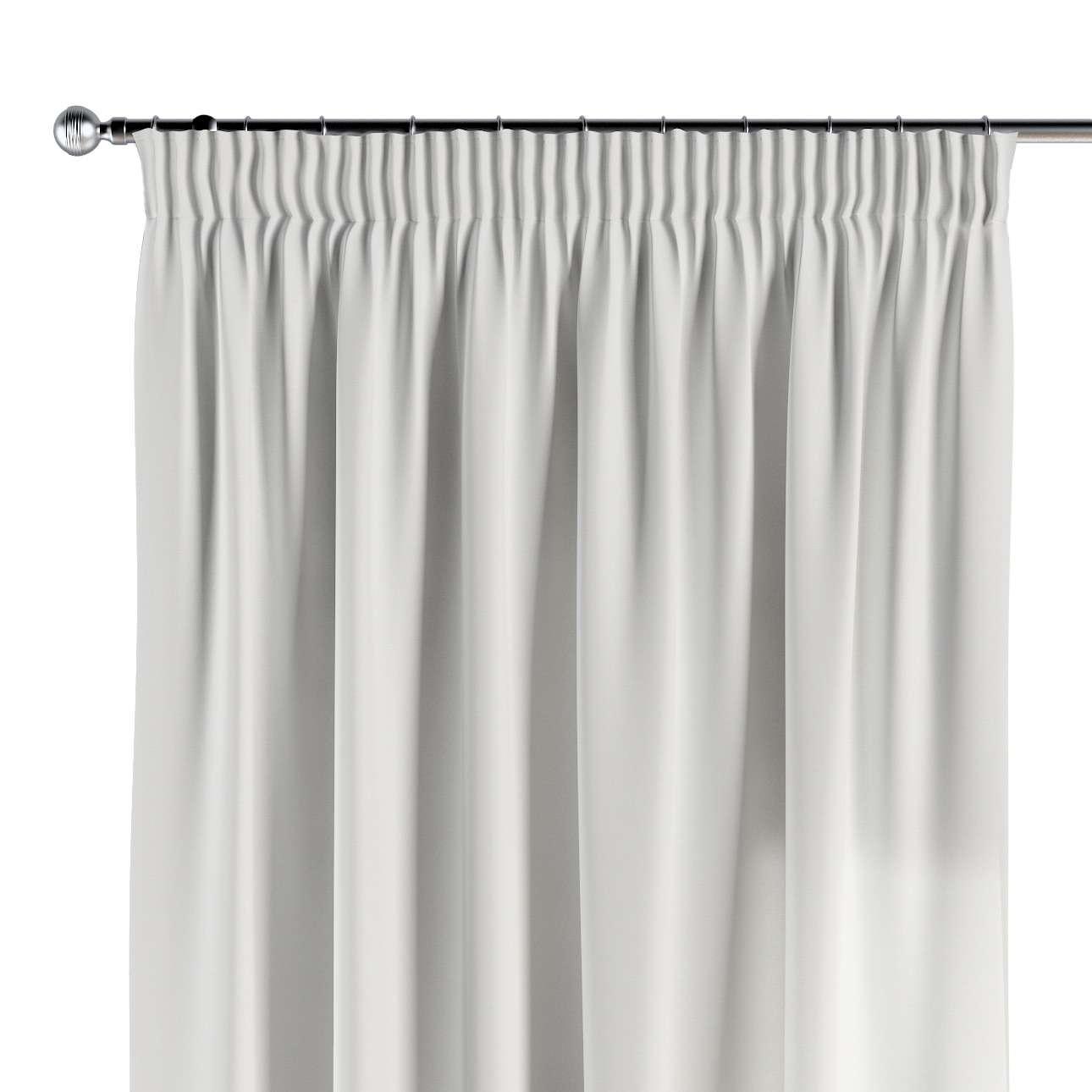 Vorhang mit Kräuselband von der Kollektion Cotton Panama, Stoff: 702-34