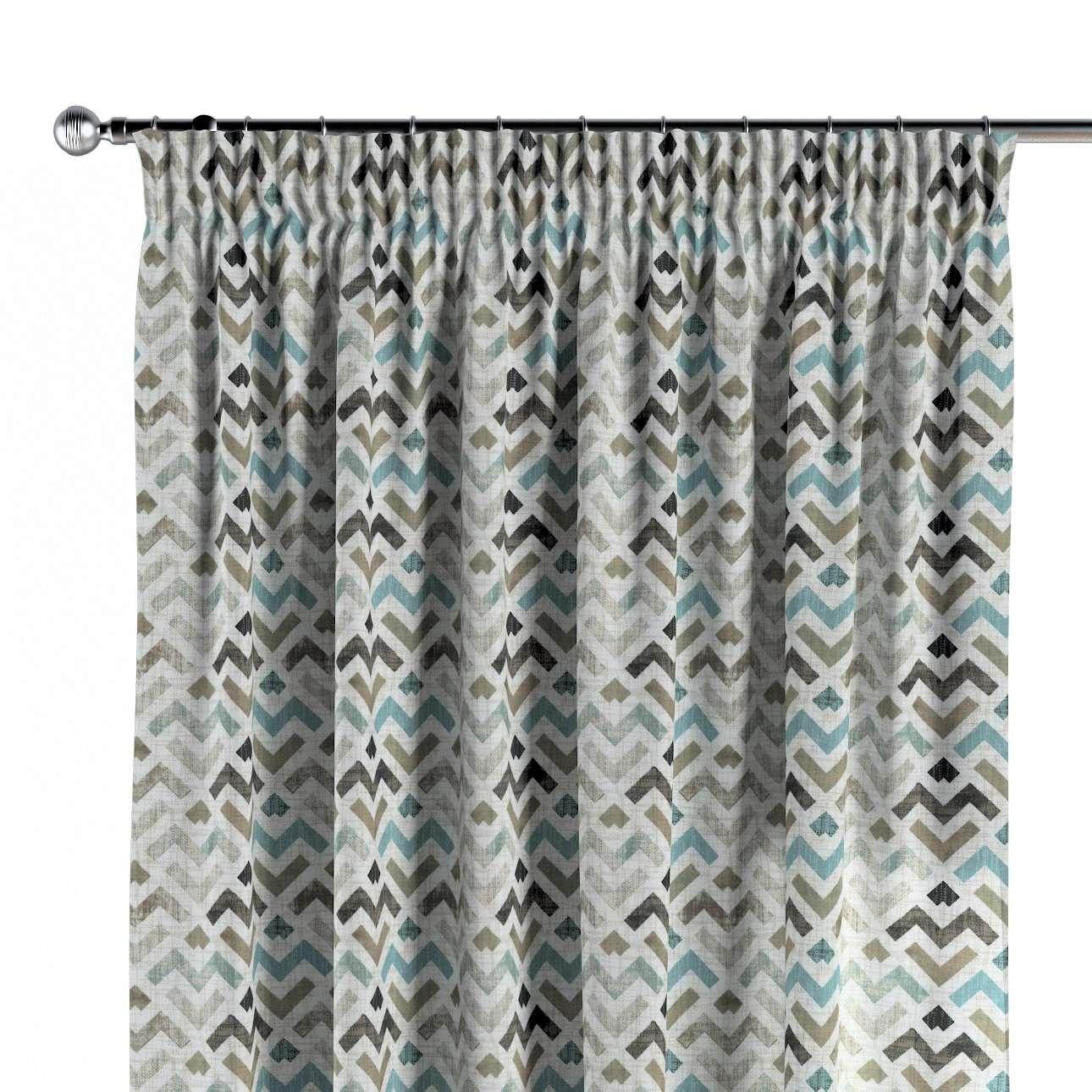 Függöny ráncolóval a kollekcióból Modern Lakástextil, Dekoranyag: 141-93