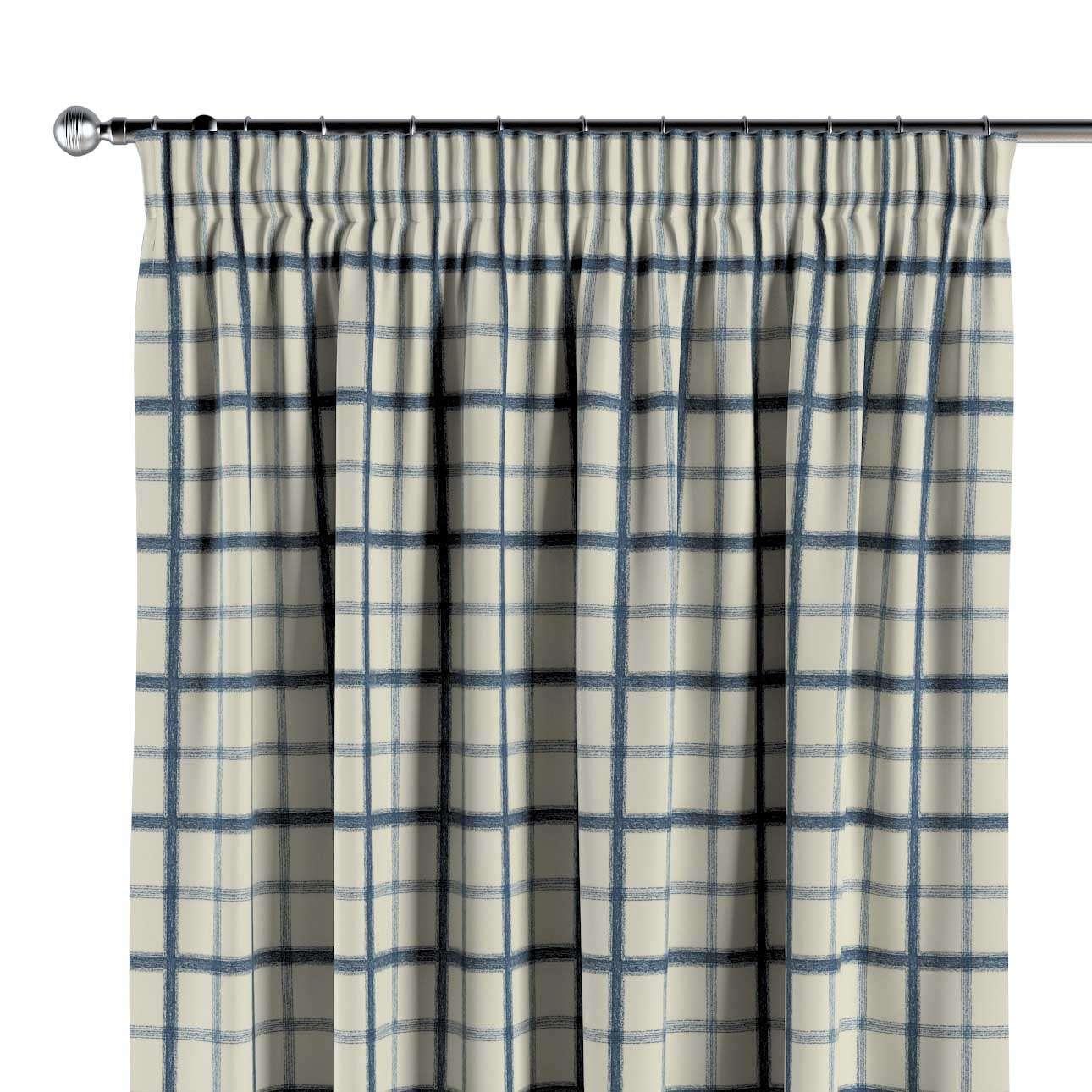 Pencil pleat curtain in collection Avinon, fabric: 131-66