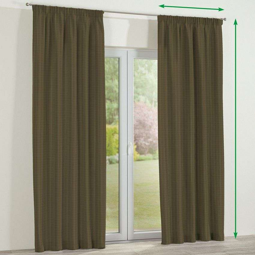 Pencil pleat curtains in collection SALE, fabric: 411-53