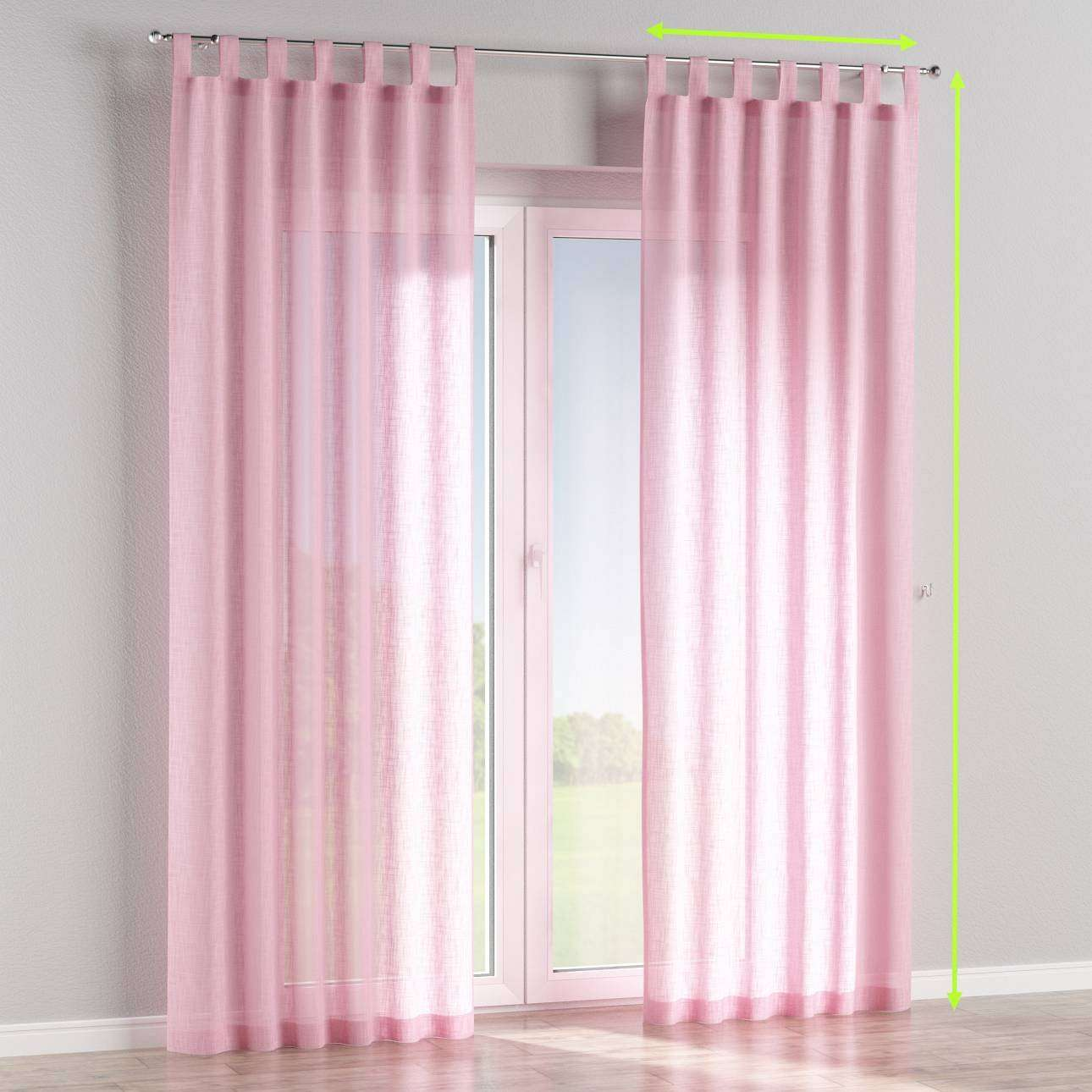 Tab top curtains in collection Romantica, fabric: 128-03