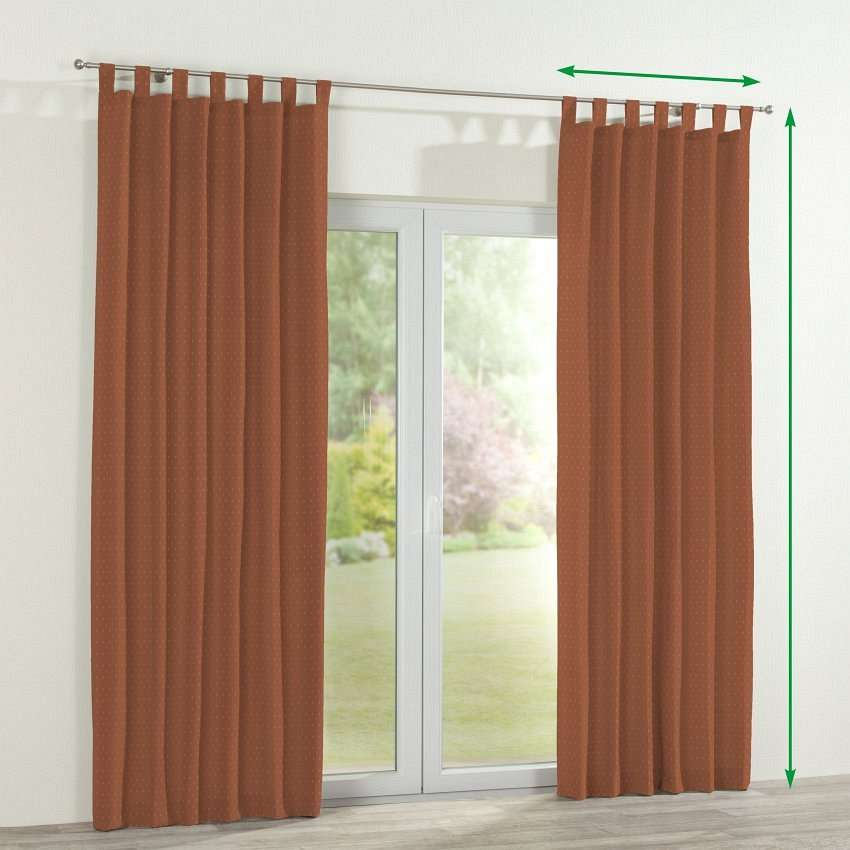 Tab top curtains in collection SALE, fabric: 130-08